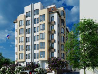 Astercon Grup - apartament cu 2 odăi suprafața 60.94 m2, 630 €/m2, mun.Chișinău, com.Stăuceni