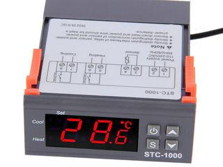 цифровой контроллер температуры STC-1000  220V