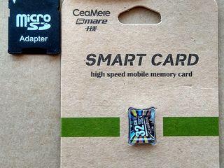 MicroSD 32 Gb + adaptor usb si SD – 100 lei.