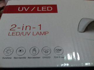 Lampa UV/LED 72 wati incapatoare certificat de calitate garantie livrare oriunde in tara