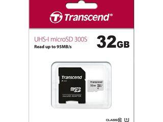 Card de memorie Transcend SD, SDHC, microSD 32GB