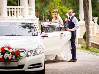 VIP Mercedes albe/negre (белые/черные) cu sofer/с водителем