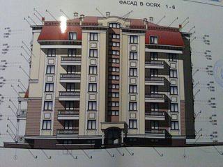 много этажный дом недостроенный. 30 квартир по проекту.