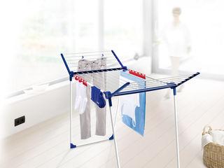 Leifheit: сушилки для белья, гладильные доски и уборочное оборудование.
