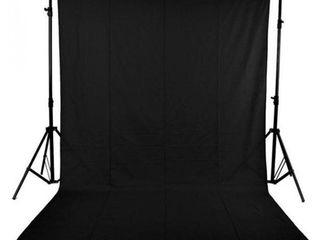 Профессиональный черный фон 3х3 м непрозрачный, матовый, не отражает свет