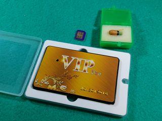Nanocaști nedetectabile (fără telefon ) Card GSM / беспроводные микронаушники
