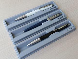 Ручки parker шариковые/ роллеровые/ трех цветов