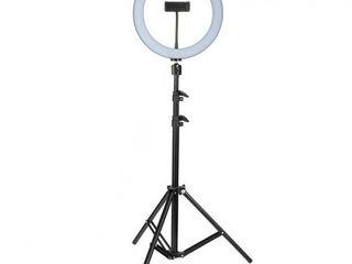 Профессиональная светодиодная лампа на штативе. 48 вт. Гарантия 2 года. Доставка