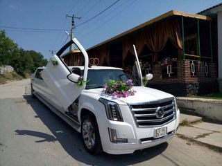 Cadillac Escalade Limousine транспорт для торжеств transport pentru evenimente