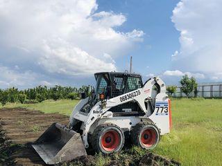 Bobcat / Miniexcavator / buldoexcavator / compactor / kamaz / basculant / evacuator