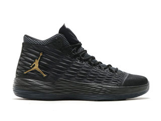 Nike air jordan melo 13 black gold