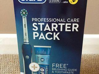 Oral b pro 2200 + зубная паста