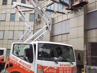Compania Lift Up oferă în arendă nacele/ autoturnuri/ автовышки.