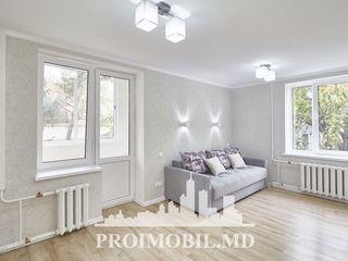Centru! 1 cameră, dotată cu mobilă, euroreparație! 32 mp, 26 500 euro!