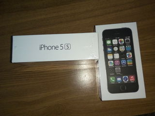 Telefon Nou Iphone 5s Negru Alb Gold New 16 Gb 190 euro