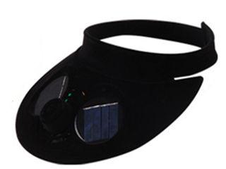 Кепка с вентилятором на солнечных батареях