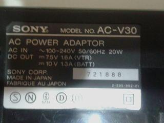 Продам зарядку Sony и батарейки