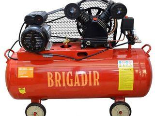 Компрессор 100 л Бригадир AC10041 livrare in toata Moldova gratuit ! Garantie ! Credit 0 %
