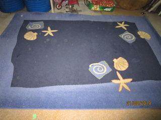 ковёр в сине-голубых тонах, 2,0*2,9 метра