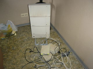 Телефонная станция D-1232 digital super hybrid sisitem IGSLG-продается