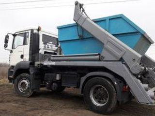 Вывоз строительного мусора, легко и чисто!! Evacuarea deseurilor