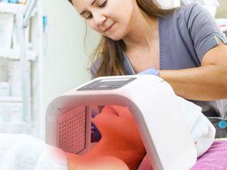 Аппарат светодиодной LED фотонной терапии  для омоложения лица