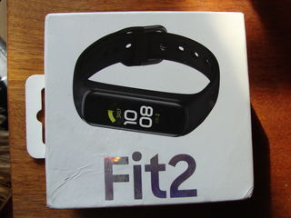 Bratara fitness Samsung Fit2, model SM-R220, color Black, NOU, sigilat - 450 lei