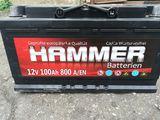 Acumulator nou Hammer 100Ah