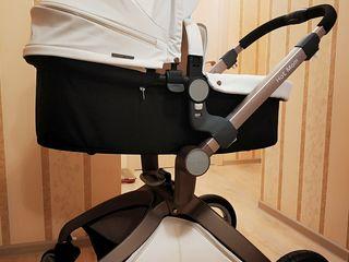 Продам коляску Hot Mom 2 в 1 Чистая, белая. Оригинал. Англия