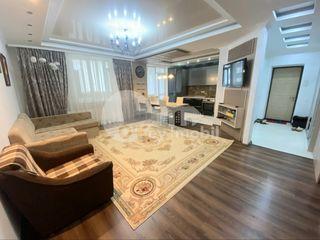 Apartament 2 camere+living, 90 mp, euro reparație, Râșcani 400 €