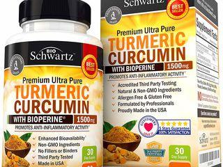 Turmeric-Curcumin Bioschwartz produs in SUA