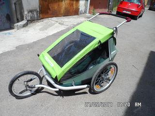 вело коляска 2 детей