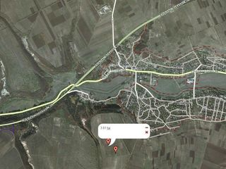3.8 га сельхозугодий в 12 км от г. Кишинева! бонитет для с/х-70!Обмен!