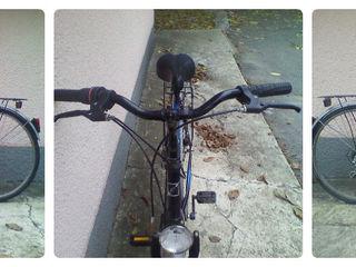 """Продам раритет! рама 19"""" итальянский городской велосипед """"esperia 6600"""". 6 скоростей. фара,багажник"""