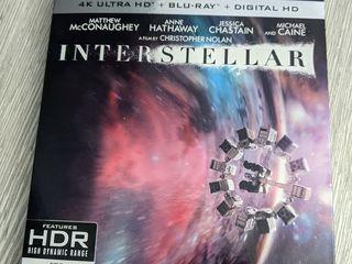 Insterstellar 4K HDR + BLU-RAY Новый!