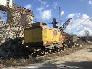 Железнодорожный кран Q-25 тонн