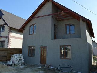 Bubuieci, casă în construcție cu 2 nivele, 150 mp