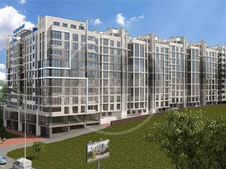 Apartament cu 3 camere, 88,6 m2, variantă albă, Ciocana