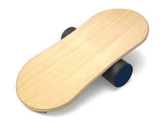 Баланс борд Smart Wood деревянный серии Eight с роликом