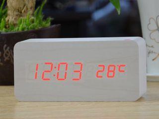 LED Wooden Clock - стильные деревянные часики под любой интерьер