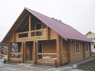 Constructii  din lemn: case, bai, foisoare... ecologic