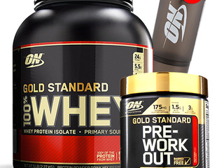 ON Gold Standard Whey Protein 2,27 kg  1550 lei + Cadou Bcaa + Pre Workout + Shaker