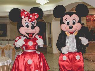 Mascote Mickey și Minnie Mouse