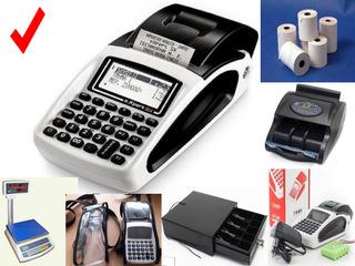 Кассовый аппарат, торговые весы, кассовая лента, детектор валют, счётчик банкнот, денежный ящик