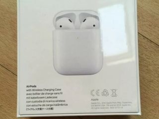 Apple AirPods 2 + Charging Case (new)