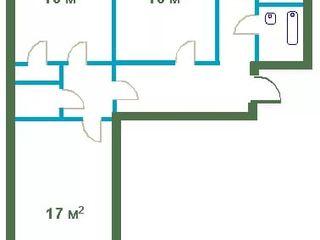 Продам 3 комнатную квартиру в г. Бендеры, ул. 8 Марта