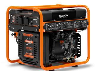 Генератор бензиновый инверторный Daewoo GDA 5600i (1 год гарантия)