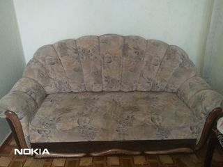 Срочно !!!  продается  мягкая мебель диван + 2 кресла  .... в отличном состоянии