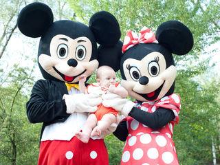 Mickey si Minni Mouse, Мики и Мини Маус - cele mai frumoase costume mascote din Moldova