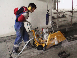 Алмазная резка бетона. Без пыли! Демонтаж дома, стен, стяжки, плитки